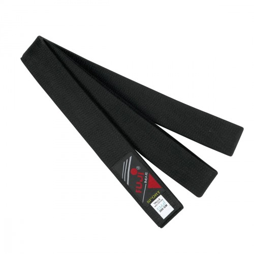 Cinturón Negro Master. Algodón