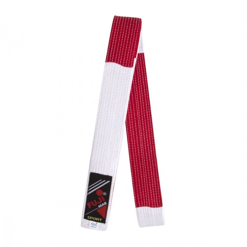 Special Master Belt. 300 cm. Red/White
