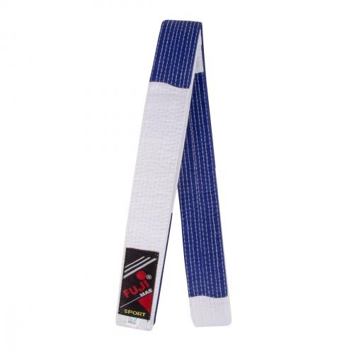 Cinturón Yoseikan. 300 cm. Azul/Blanco