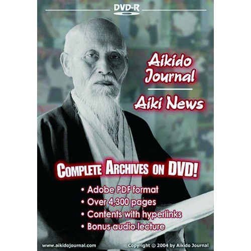 DVD : Aikido Journal. Complete archives