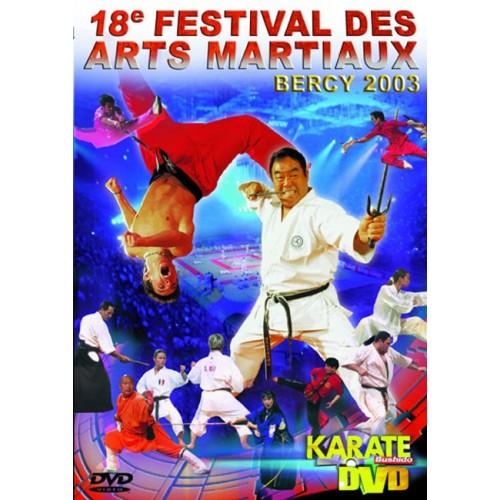 DVD : Bercy 2003. 18 Festival des Arts Martiaux