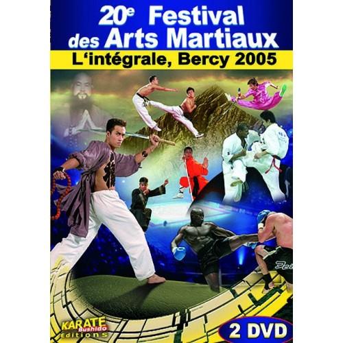 DVD : Bercy 2005. 20 Festival des Arts Martiaux. 2DVD