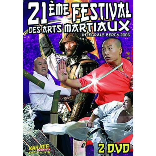 DVD : Bercy 2006. 21 Festival des Arts Martiaux. 2DVD