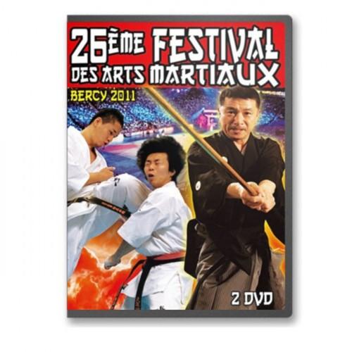 DVD : Bercy 2011. 26 Festival des Arts Martiaux. 2DVD