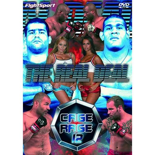 DVD : Cage Rage 12
