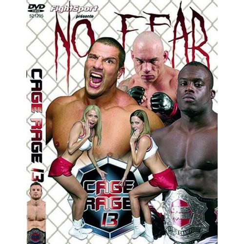 DVD : Cage Rage 13