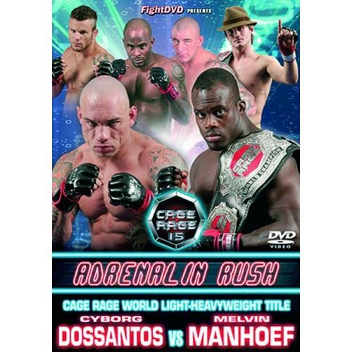 DVD : Cage Rage 15