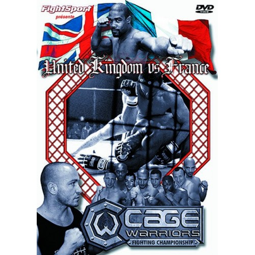 DVD : Cage Rage. UK vs France