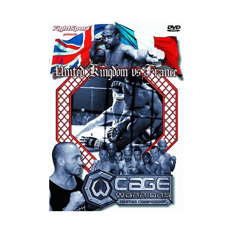 DVD : Cage Rage. UK vs France