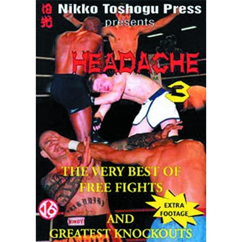 DVD : Headache 3. Free Fights