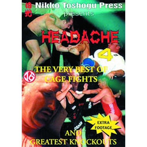 DVD : Headache 4. Cage Fights