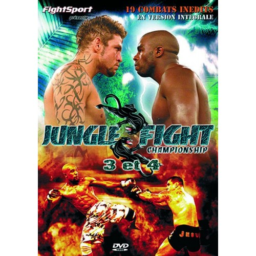 DVD : Jungle Fight Championship 3+4