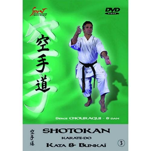 DVD : Shotokan Karate Kata & Bunkai 3