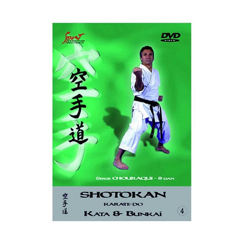 DVD : Shotokan Karate Kata & Bunkai 4