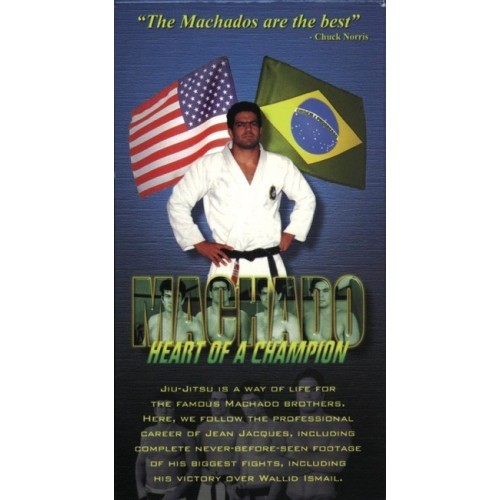 DVD : Machado. Heart of a Champion