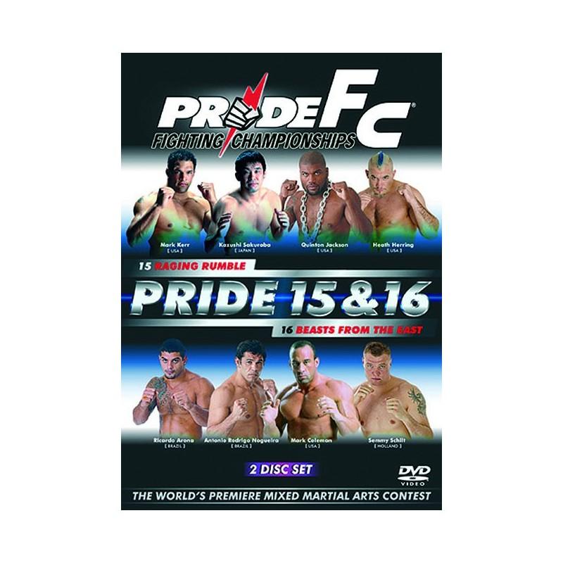 DVD : Pride FC 15+16