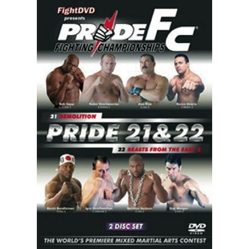 DVD : Pride FC 21+22