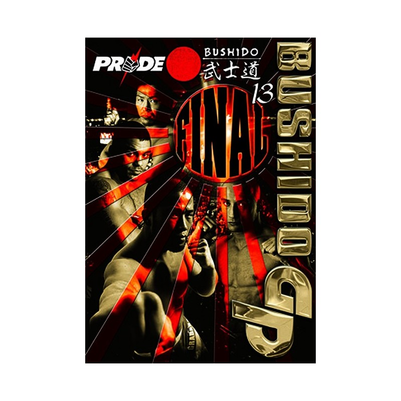 DVD : Pride Bushido 13