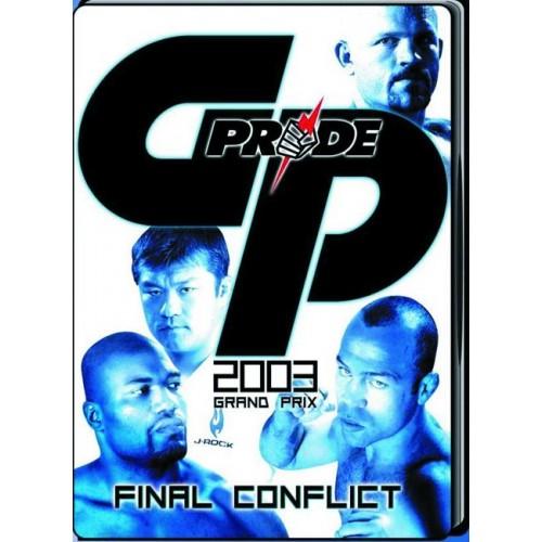 DVD : Pride GP 2003. Final