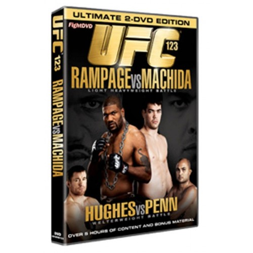 DVD : UFC Ultimate Fighting Championship 123
