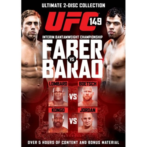 DVD : UFC Ultimate Fighting Championship 149