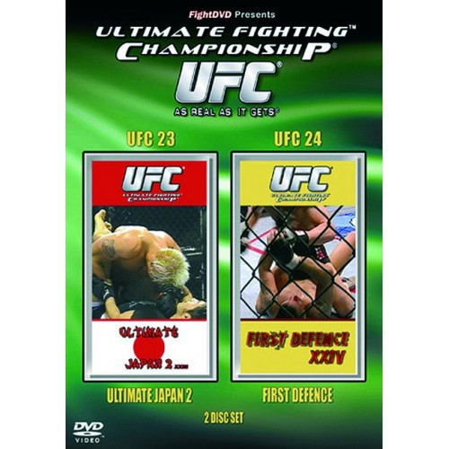 DVD : UFC Ultimate Fighting Championship 23+24
