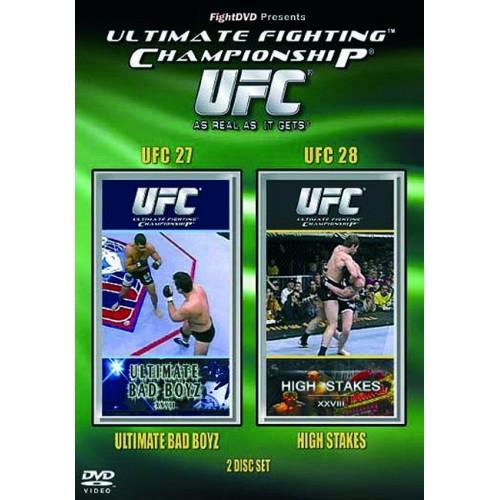 DVD : UFC Ultimate Fighting Championship 27+28