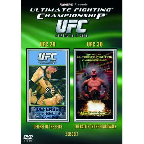 DVD : UFC Ultimate Fighting Championship 29+30