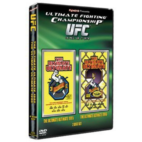 DVD : UFC Ultimate Fighting Championship 1995+1996