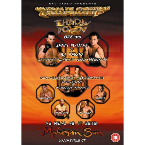 DVD : UFC Ultimate Fighting Championship 35