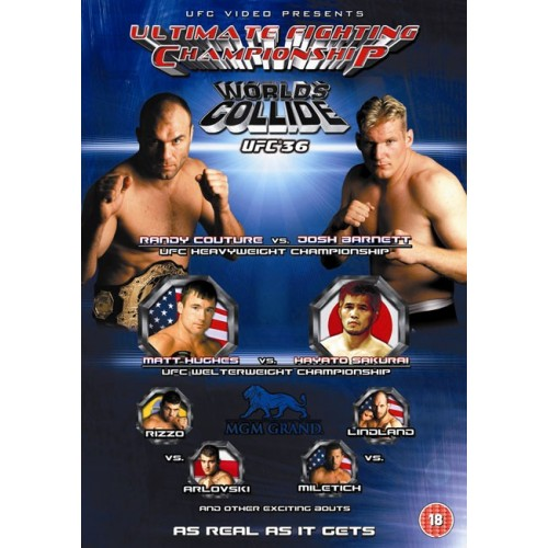 DVD : UFC Ultimate Fighting Championship 36