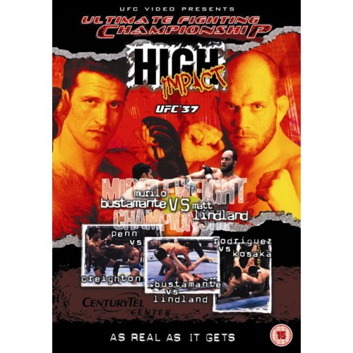 DVD : UFC Ultimate Fighting Championship 37