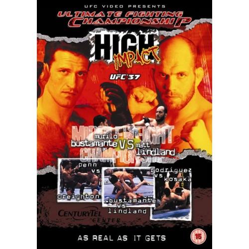 DVD : UFC Ultimate Fighting Championship 37