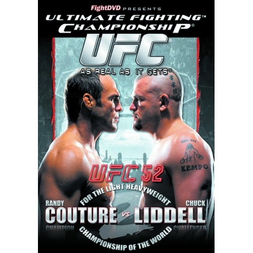 DVD : UFC Ultimate Fighting Championship 52