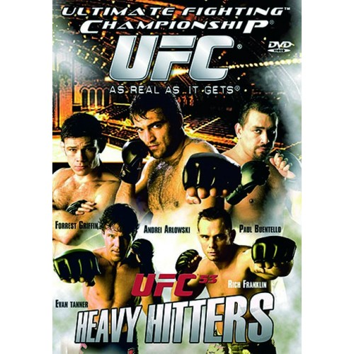 DVD : UFC Ultimate Fighting Championship 53
