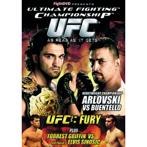 DVD : UFC Ultimate Fighting Championship 55