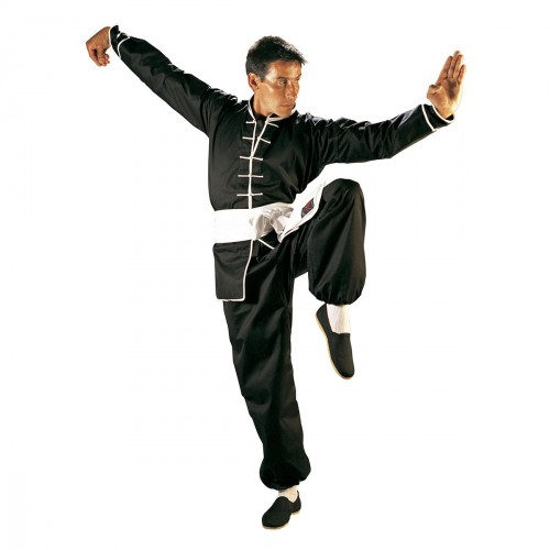 Kung Fu Uniform. White Edge