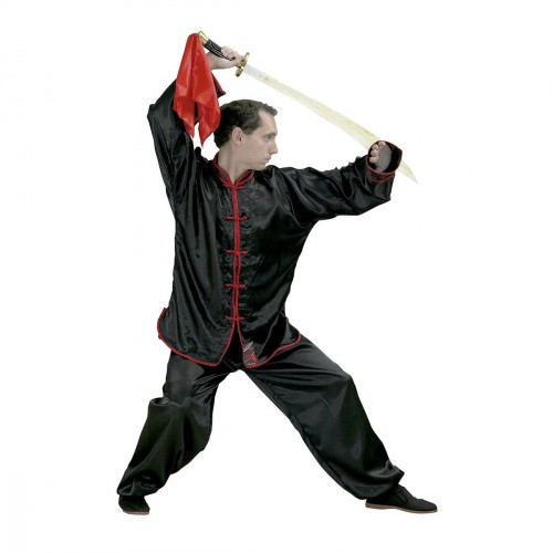 Kung Fu Uniform. Satin