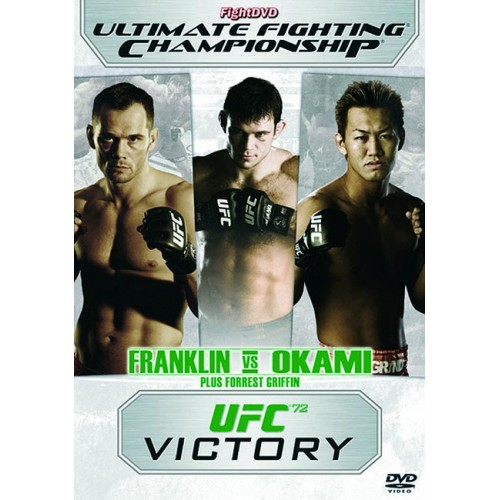 DVD : UFC Ultimate Fighting Championship 72