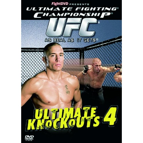 DVD : UFC Ultimate Knockouts 4