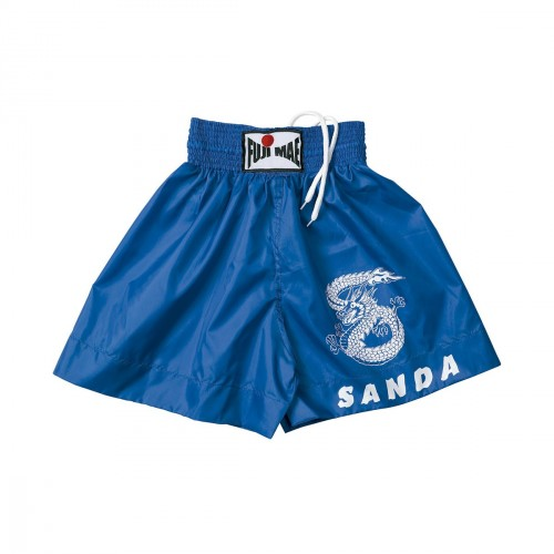 Sanda Shorts. Blue. Polyester