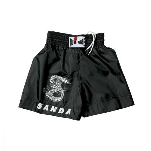 Shorts Sanda. Negro