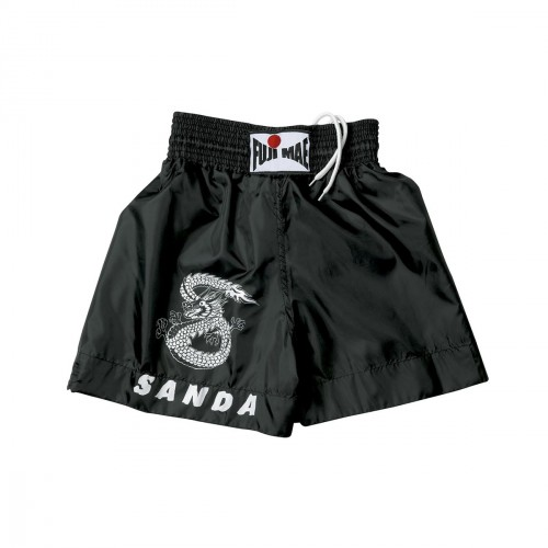 Sanda Shorts. Black. Polyester