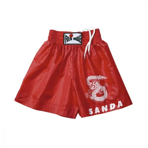 Sanda Shorts. Red. Polyester