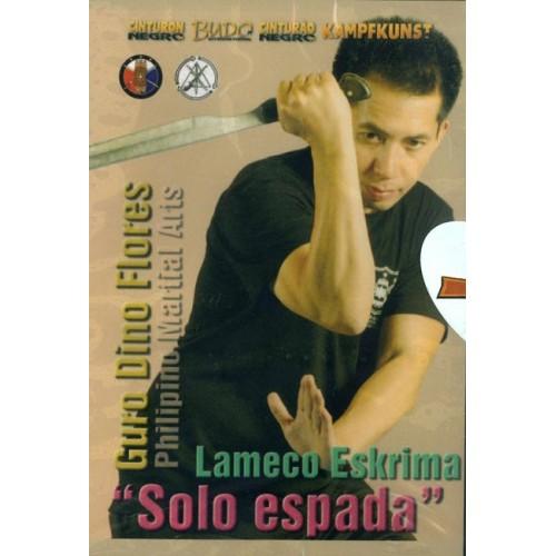 DVD : Lameco Eskrima Solo Espada