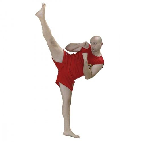 Uniforme Sanda. Rojo