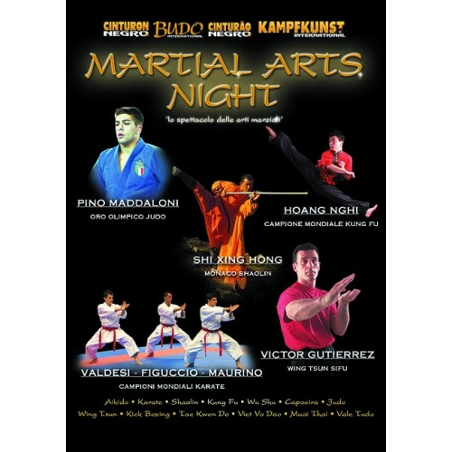 DVD : Martial Arts Night