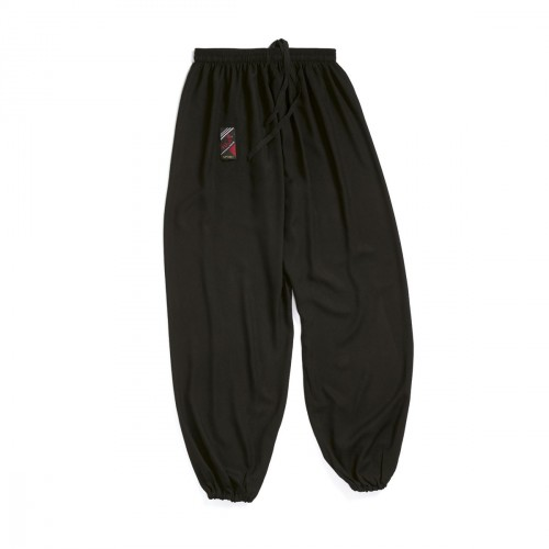 Tai Chi trousers. Black. Polycotton