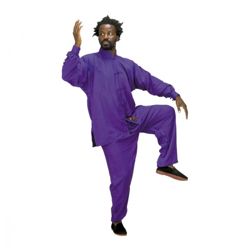 Tai Chi Uniform. Purple