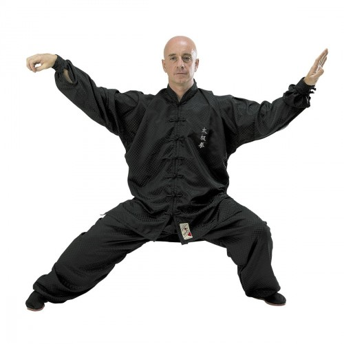 High Quality Tai Chi Uniform. Black